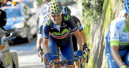 En la imagen, el español Mikel Landa.