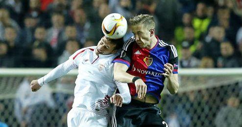 El Sevilla eliminó al Basilea en cuartos.