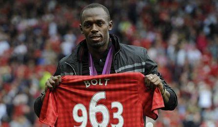Bolt, ganador de seis medallas de oro olímpicas, ha asegurado que los futbolistas no quieren jugar para el técnico holandés.