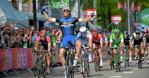 La segunda etapa fue una exhibición de potencia del ciclista alemán.