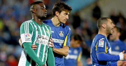 Imagen del Getafe-Betis de la primera vuelta.