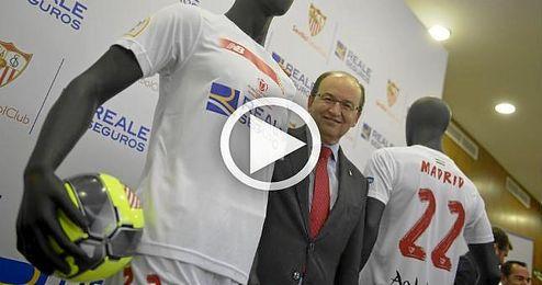 """As� es la camiseta del Sevilla para """"pelear la sexta Copa del Rey"""""""
