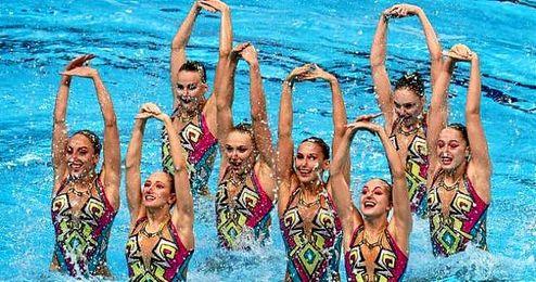 Ucrania e Italia completaron el podio.