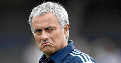 Jos� Mourinho durante su segunda etapa al frente del Chelsea.