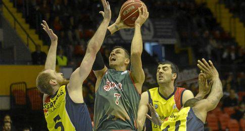 Imagen del partido contra el MoraBanc Andorra.