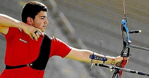 En la imagen, el arquero español Miguel Alvariño.
