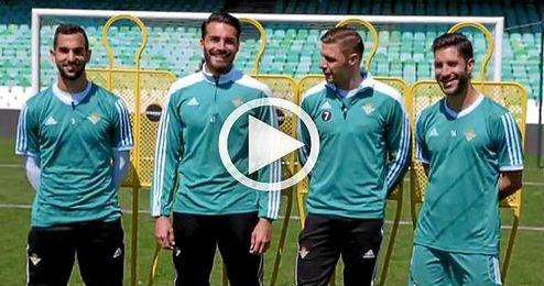 (Vídeo) El reto de Joaquín, Cejudo, Montoya y Xavi Torres