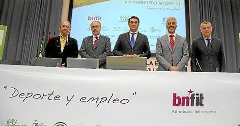 Inauguración del XIV Congreso de la Asociación Andaluza de Gestores del Deporte