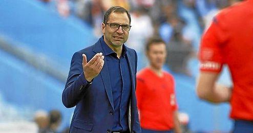 """""""Estamos obligados a ganar"""", aseguró el técnico del Getafe."""