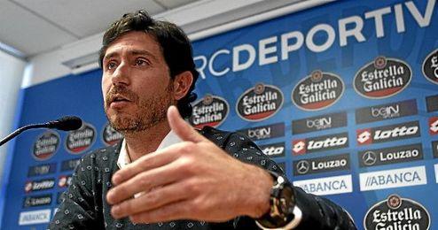 Víctor Sánchez en rueda de prensa.