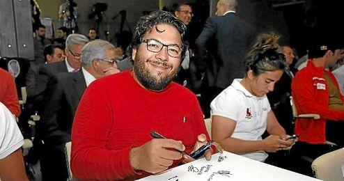 Alberto Fernández, en un acto de LaLiga.