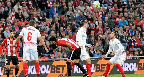 Cristóforo decantó el sino del marcador con un error en la entrega que significó el 1-0.