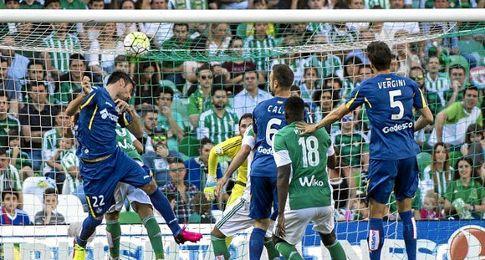 Imagen del Betis-Getafe.