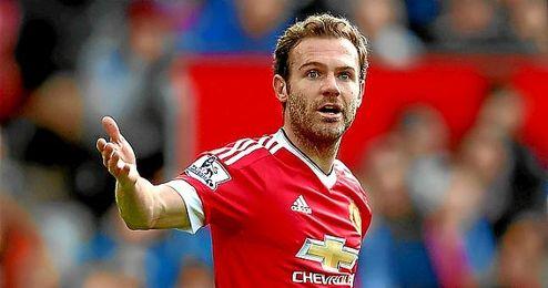 El espa�ol del United, Juan Mata