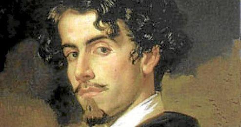 Pintura de Gustavo Adolfo Bécquer.