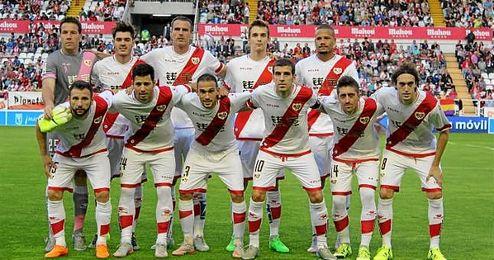 Una de las alineaciones titulares del Rayo Vallecano esta temporada.
