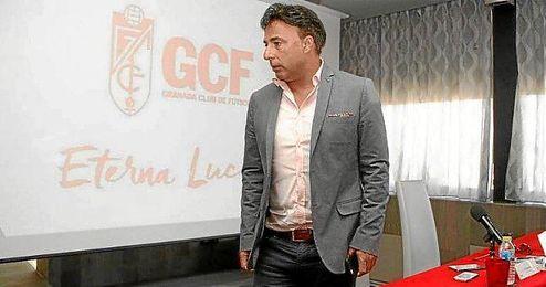Pina, presidente del Granada CF