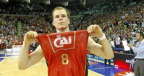 Michael Roll militó dos temporadas en el CAI Zaragoza.