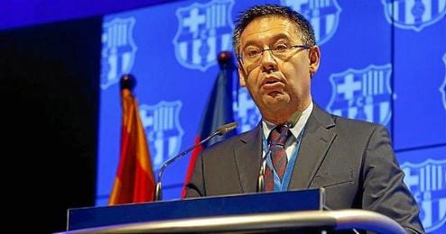 """""""Con acciones como ésta, el F.C. Barcelona defiende y continuará defendiendo la libertad de expresión de sus socios y aficionados""""."""