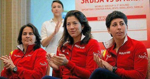 """La oscense cree que Rafa Nadal y Muguruza son """"buenas bazas"""" para creer en la victoria en Roland Garros."""
