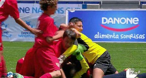 El Sevilla se impuso al Valencia en la final.