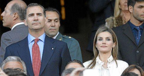 Doña Letizia acompañará a Felipe VI.