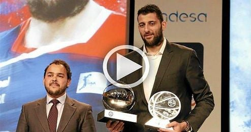 Bourousis, MVP de la Liga Endesa