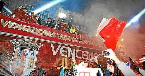 La celebración de la Taça de Portugal