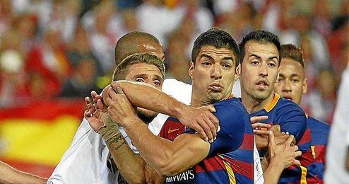 Carriço vio la roja en la final de Copa.