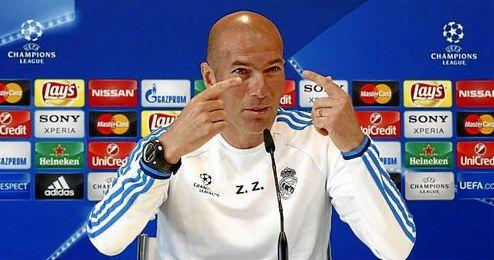 """El técnico galo Zinedine Zidane afrontará la final """"con tranquilidad y determinación""""."""