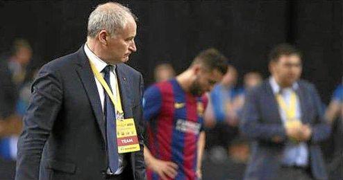 Es el cuarto el entrenador de las secciones del Palau con más temporadas dirigiendo al equipo.