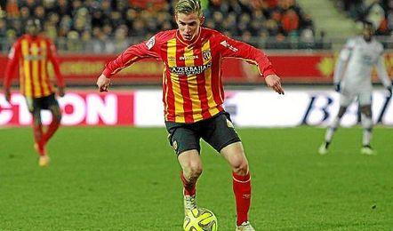 Bourigeaud, en un partido con el Lens.