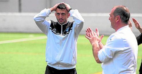José González Fajardo ´Ché´ durante un encuentro de Liga de la presente temporada.