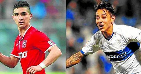 A la izquierda, Felipe Gutiérrez, que se pierde la Copa América por una lesión. En su lugar irá Erick Pulgar, que comparte representante con el de Quintero.