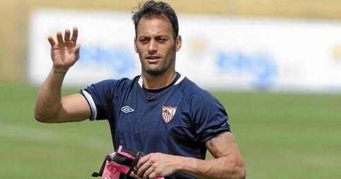 """""""Llevar� al Sevilla FC y a Sevilla siempre en mi coraz�n""""."""