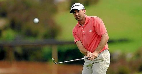 El golfista español Sergio García.