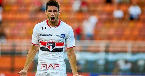 Jonathan Calleri, delantero argentino de 22 años.