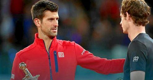 Tercera final para Djokovic; primera para Murray.
