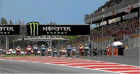 Se ha decidido utilizar la ´chicane´ que se emplea en la F1, para ralentizar el paso antes de meta.