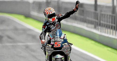 Zarco recordó a Salom en su triunfo en Moto2.