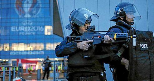 El gobierno francés ha incrementado las medidas de seguridad de cara a la Eurocopa.