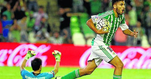 Imagen del Betis-Depor de la Liga 15/16.