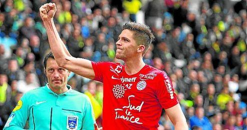 Jonas Martin llega hoy a Sevilla.
