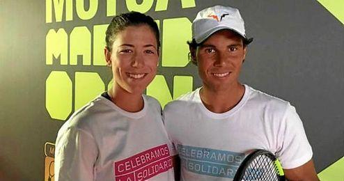 """Muguruza: """"Mi objetivo es hacer un buen torneo en Wimbledon, pero debo prepararme en la superficie de hierba de Mallorca""""."""