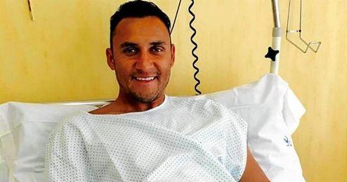 El portero costarricense fue operado del talón izquierdo.