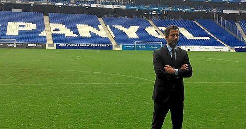 """""""Tengo memoria histórica del fútbol y el Espanyol reúne las condiciones perfectas"""", ha comentado."""
