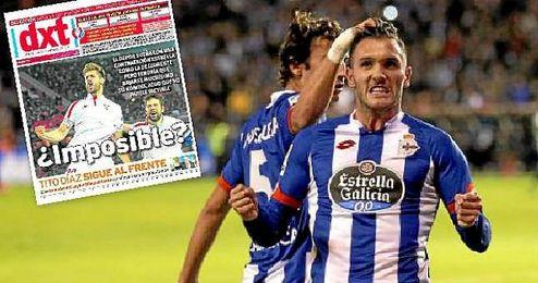 La opción de Lucas Pérez, estancada a día de hoy, cuenta con un nuevo factor: Fernando Llorente.