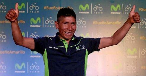 Nairo Quintana se sumará a la Ruta del Sur.