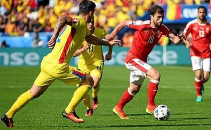 Suiza arranca un empate a Rumanía (1-1)