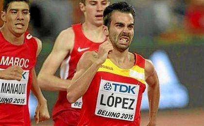 """""""Nadie en España ha disputado la final olímpica en los 800 metros"""", ha dicho López."""
